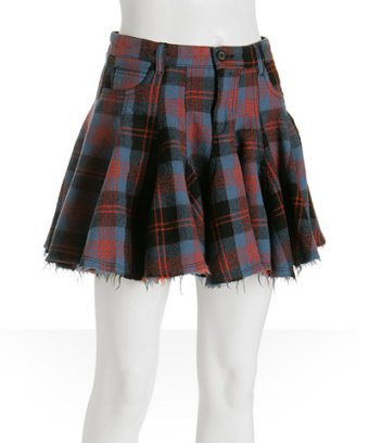 Alexander McQueen plaid mini
